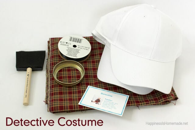 Detective Costume Supplies