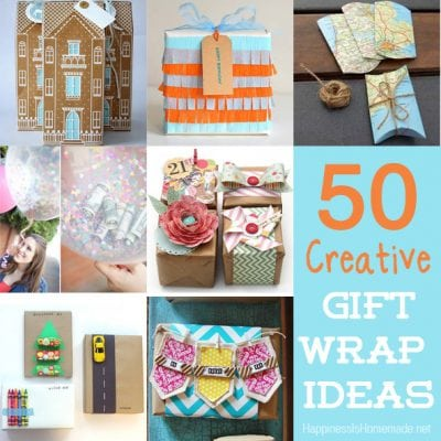 50 Unique & Creative Ways to Wrap a Gift