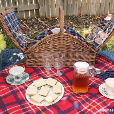 Royal Inspired Tea Party Picnic
