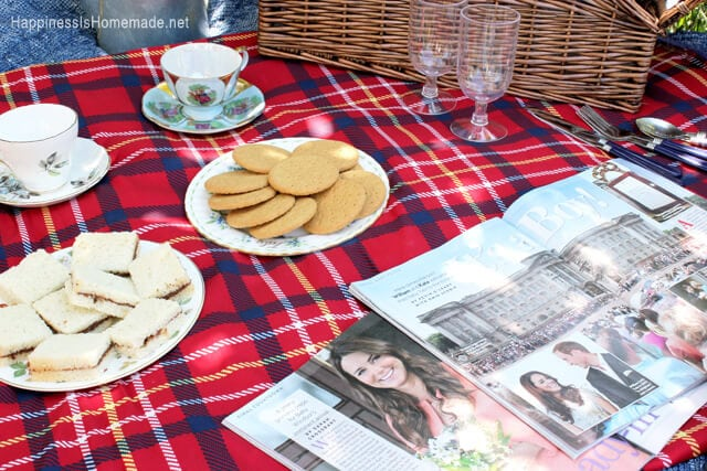Royal Baby Tea Party Picnic