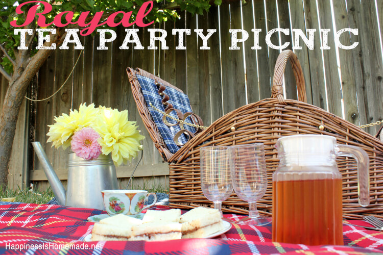 Royal Tea Party Picnic UK