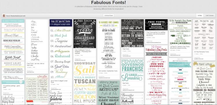 Che Fonts