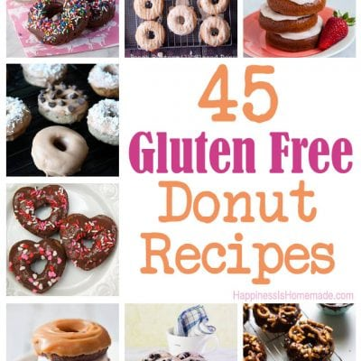 45 Delicious Gluten Free Donut Recipes