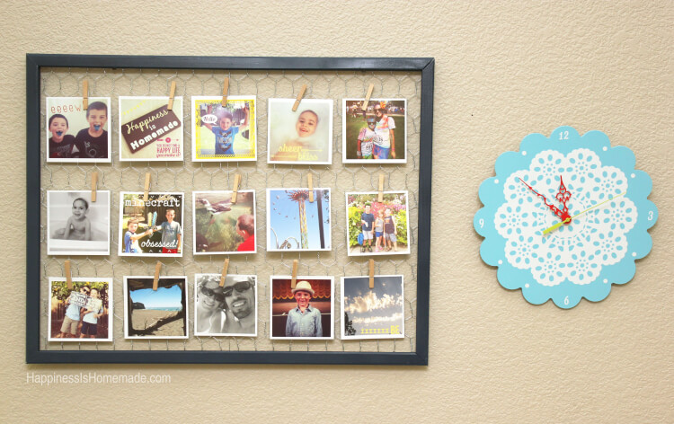 Instagram Photo Display Frame