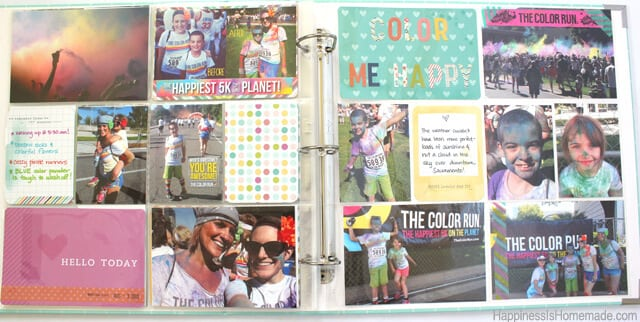 Project Life Dear Lizzy Fifth and Frolic Page Layout 2