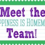 Meet the Happiness is Homemade Team!
