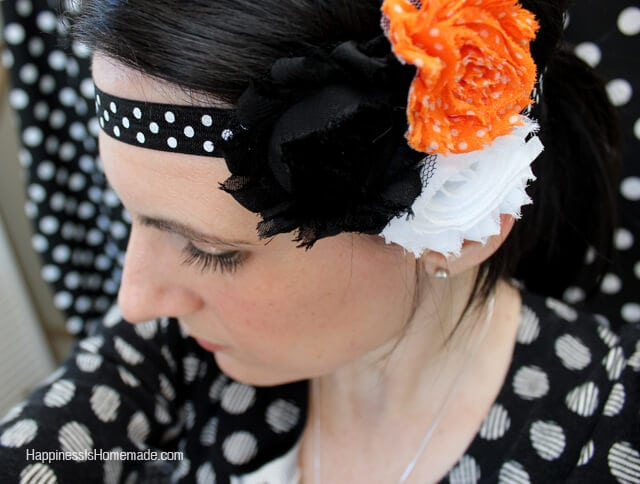 Cute and Easy DIY Halloween Headband