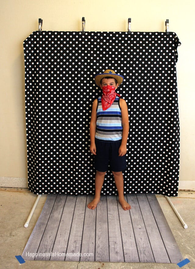 how to build a photo booth out of pvc pipe