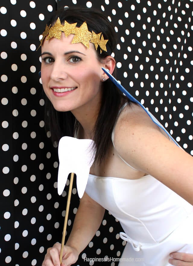 Diy tooth fairy costume accessories happiness is homemade easydiy tooth fairy costume solutioingenieria Image collections