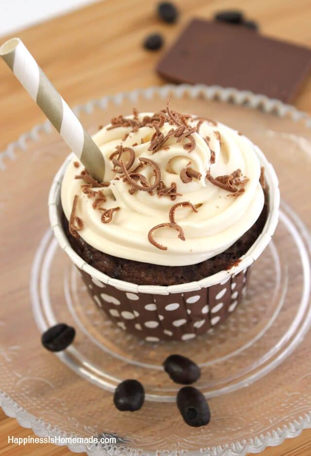 Iced Mocha Coffee Brownies