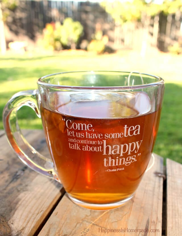 Morning Cup of Bigelow Tea