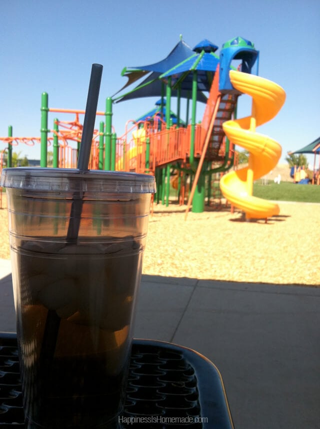 Park Time With Bigelow Tea