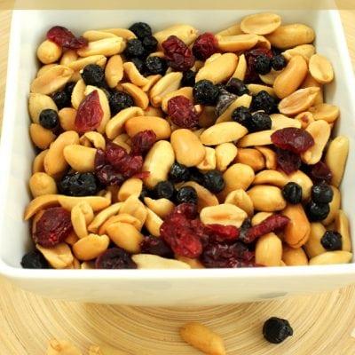 Peanut Power Snack Mix