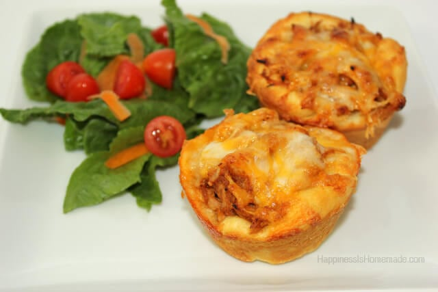 Pillsbury Grands Biscuit BBQ Chicken Cups