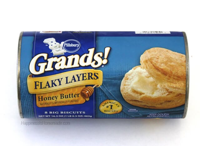 Pillsbury Grands Unbaked Biscuits, HoneyButter, Flaky Layers, Ounce - 12 per case.