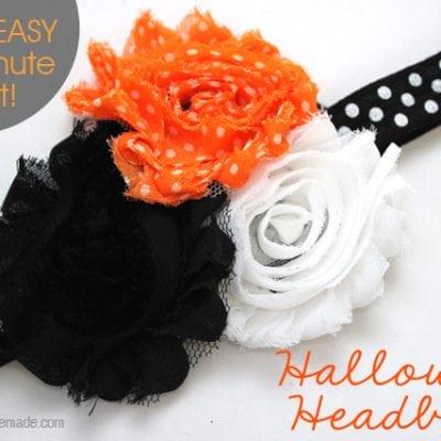 10 Minute Craft: Halloween Headband