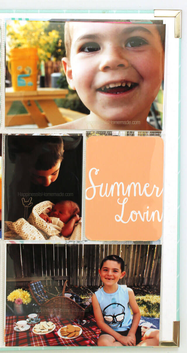 Summer Lovin Project Life Cards from Simple as That 3