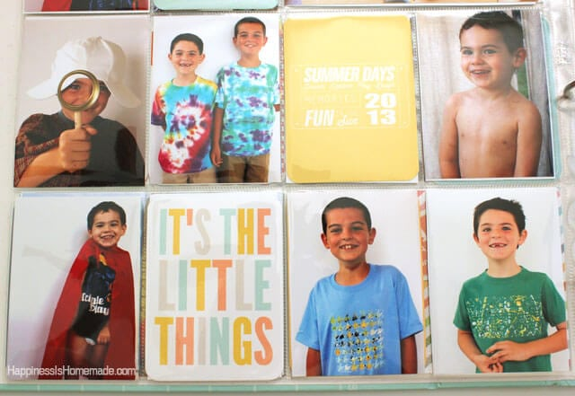 Summer Lovin Project Life Cards from Simple as That