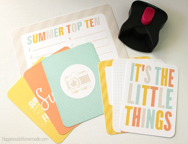 Summer Project Life Cards from Simple as That