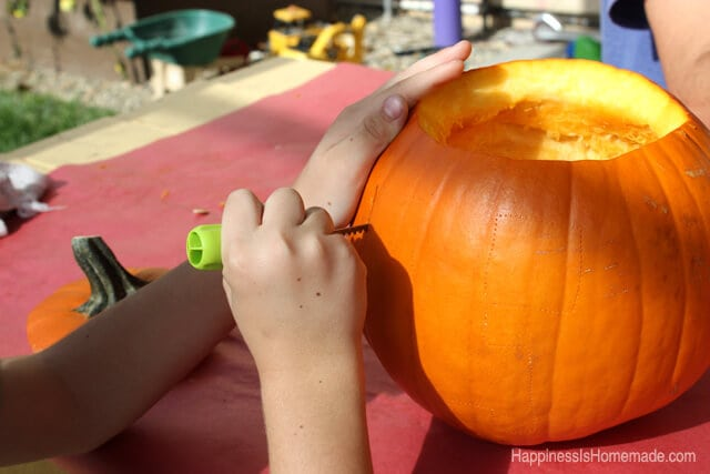 Carving Pumpkins With Pumpkin Masters Tools