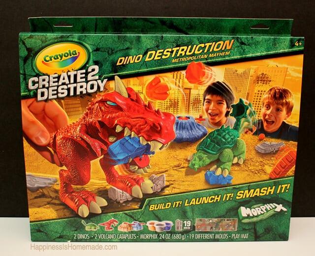 Create 2 Destroy Dinosaur Set