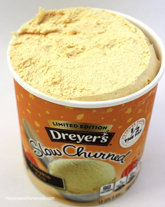 Dreyers Pumpkin Patch Ice Cream