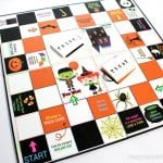 Glow-in-the-Dark Halloween Board Game