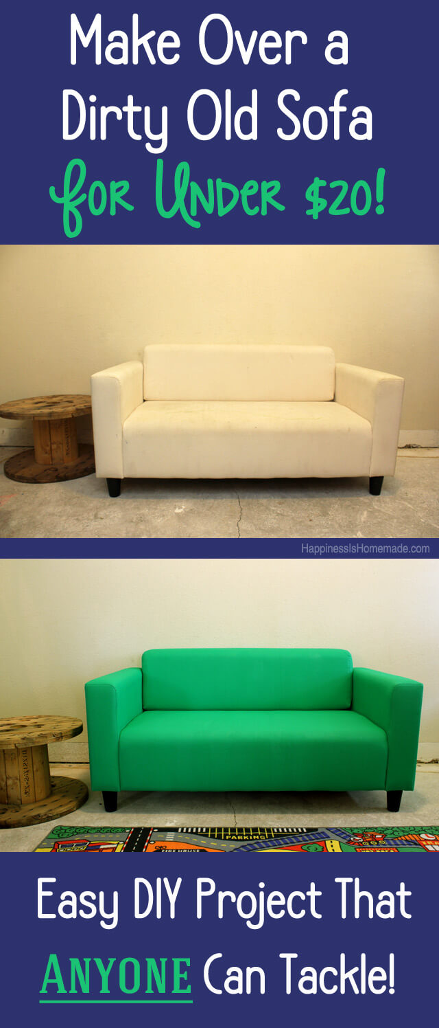 Charming How To Easily Paint A Couch For Under $20