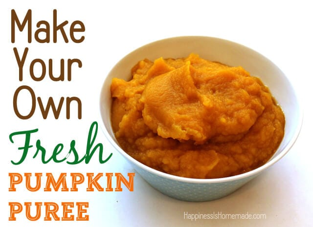 How to Make Your Own Fresh Pumpkin Puree #FreshFinds #shop