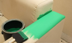 How to Paint a Loveseat Sofa