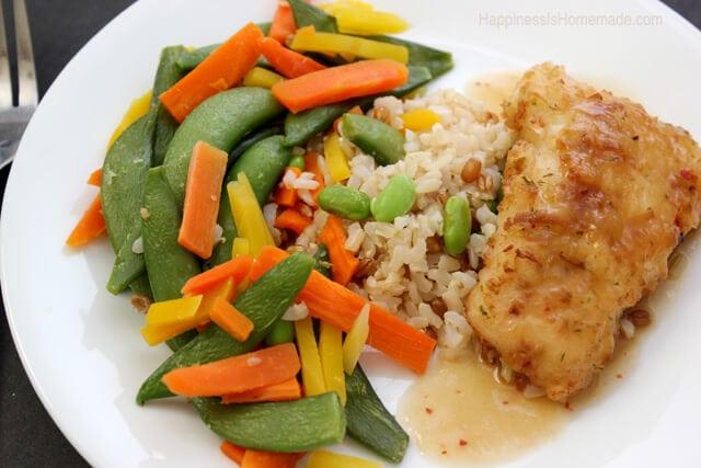 Lean Cuisine Honestly Good Lemongrass Salmon Meal