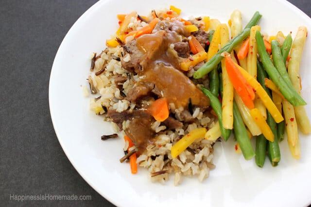 Lean Cuisine Honestly Good Pineapple Black Pepper Beef Meal