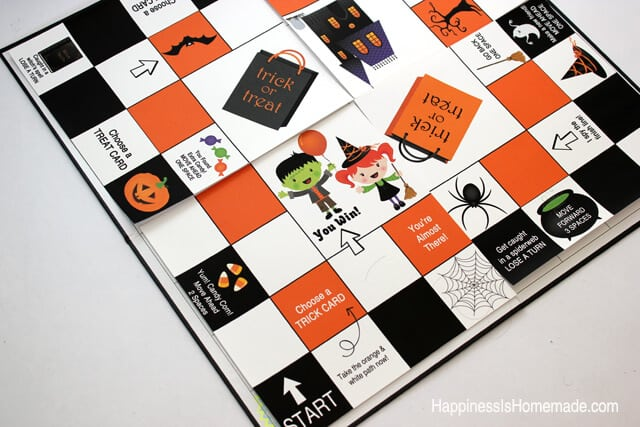 Making a Homemade Halloween Board Game