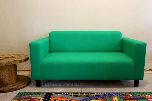 Painted Ikea Loveseat Sofa Couch