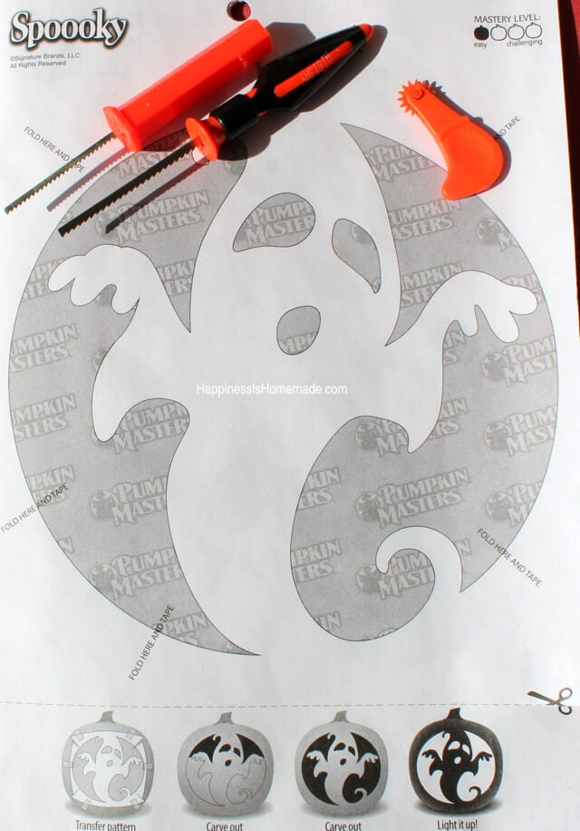 Pumpkin Masters Carving Pattern