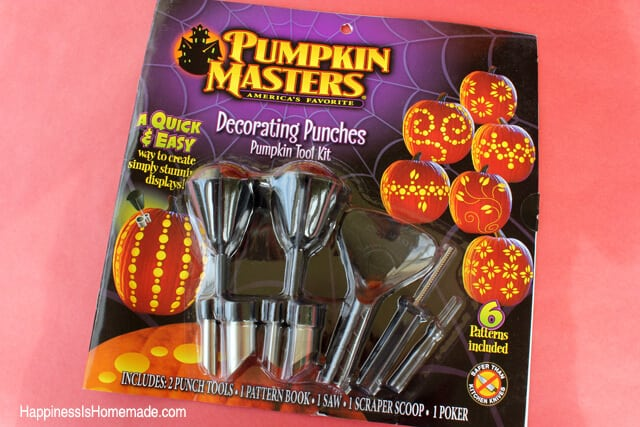 Pumpkin Masters Decorating Punches