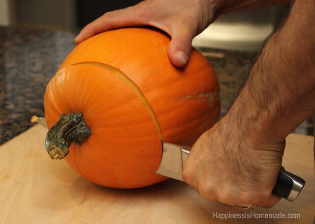 Ready a Pumpkin For Roasting #FreshFinds #shop