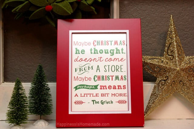 Christmas Grinch Decorations.Free Christmas Printables Grinch Quote 15 More