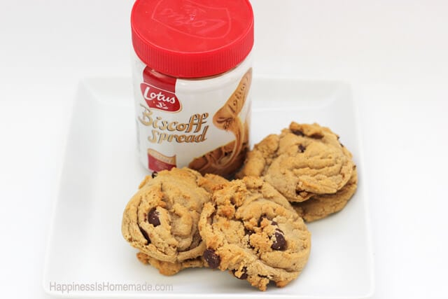 Incredible Chocolate Chip and Biscoff Spread Cookies