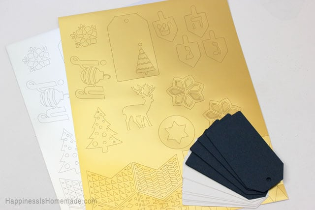 Crafty image throughout silhouette printable gold foil