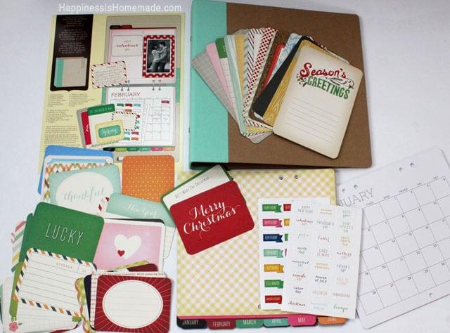Michael's Recollections Calendar Kit
