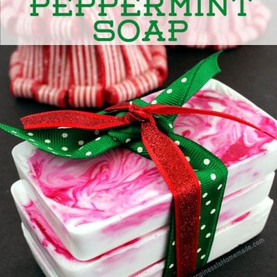 10-Minute DIY Holiday Gift Idea: Peppermint Soap