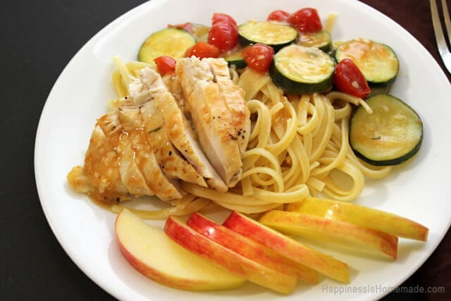 Rosemary Chicken With Vegetables eMeals Dinner Recipe