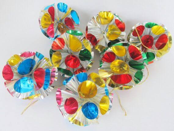 Vintage Foil Ornaments