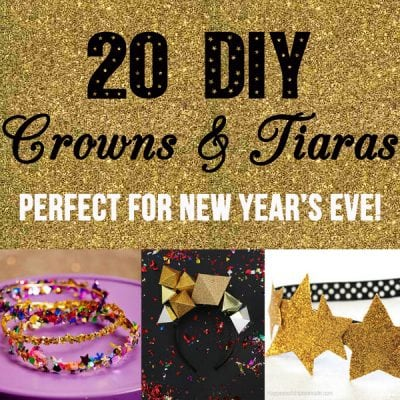 20 DIY Crowns and Tiaras – Perfect for New Year's Eve!