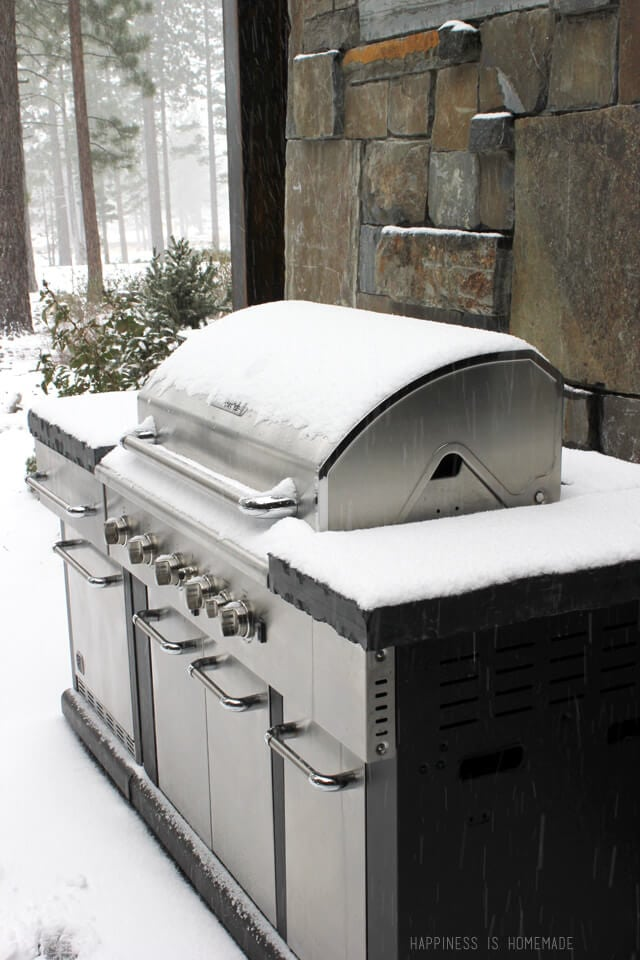 Backyard Grill at the 2014 HGTV Dream Home