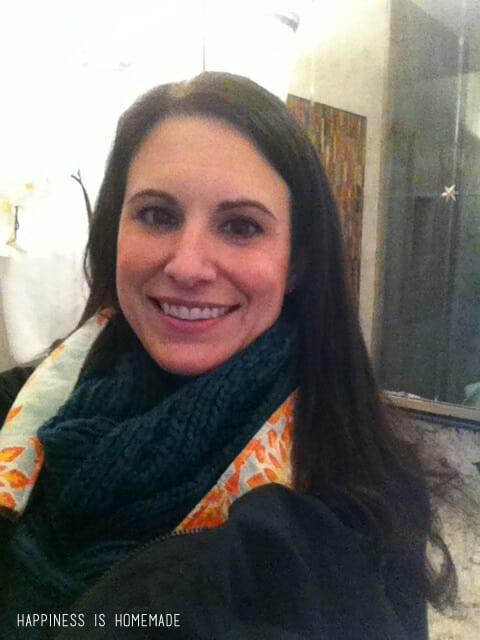 Bathroom Selfie at the 2014 HGTV Dream Home