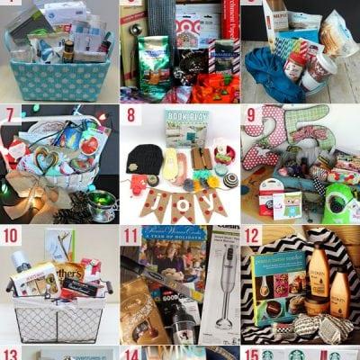 Christmas Wish Basket Ideas