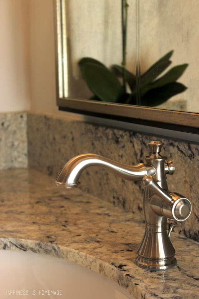 Delta Cassidy Bath Faucet at the 2014 HGTV Dream Home