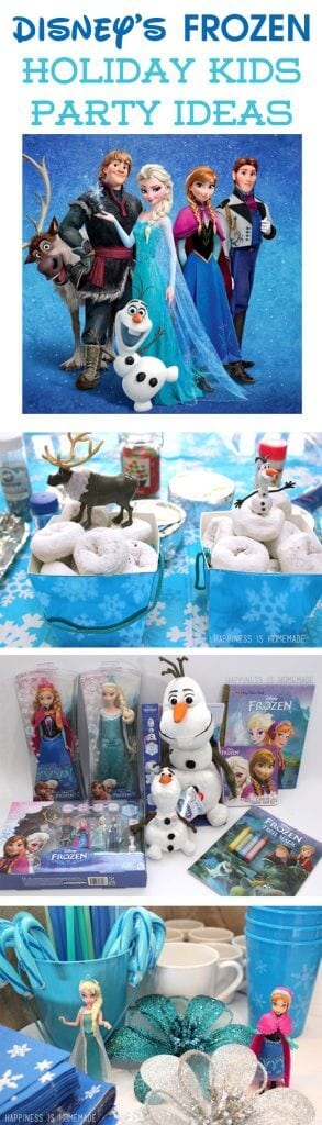 Disney's FROZEN Movie Party Ideas #FrozenFun #cbias #shop